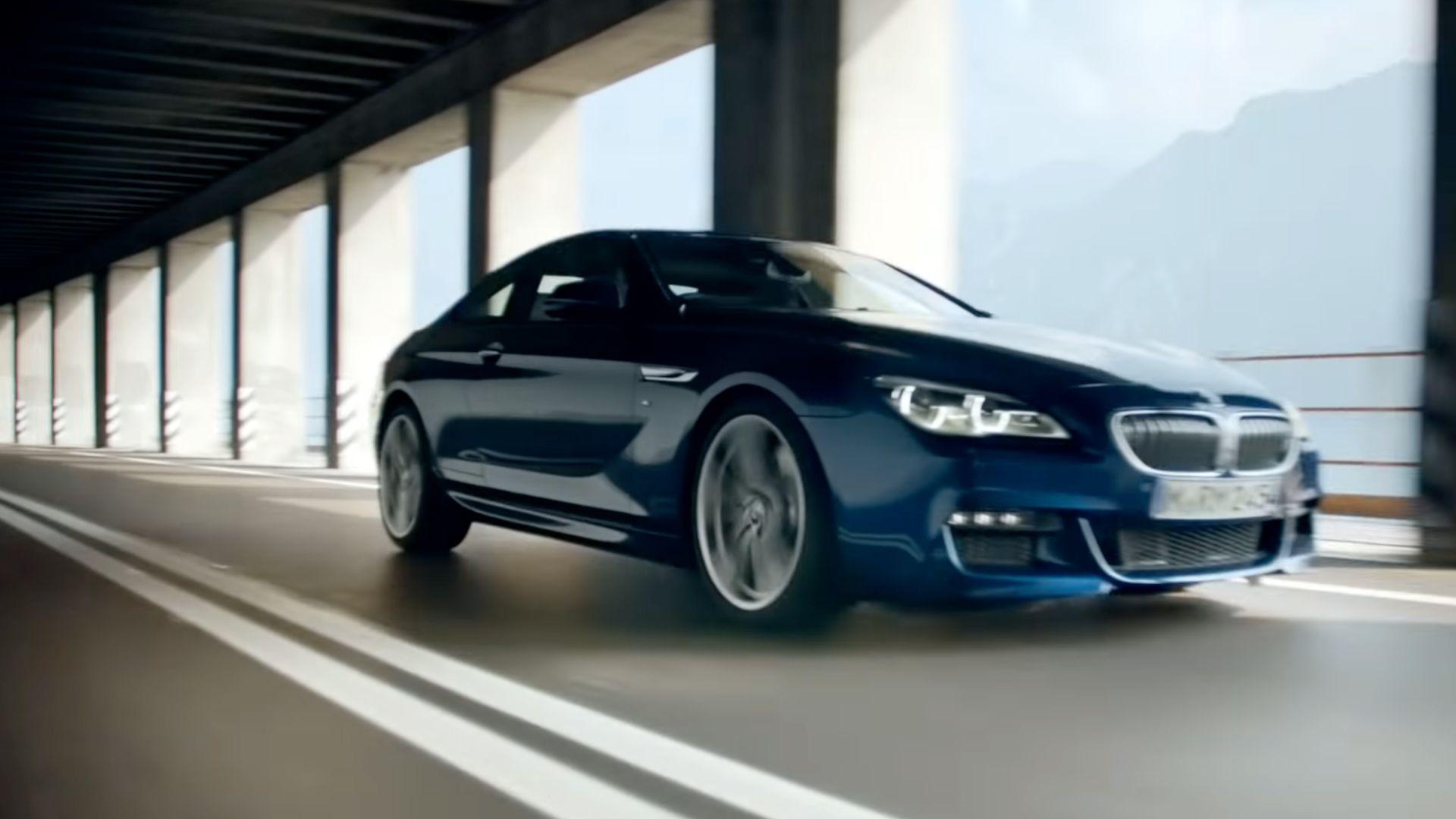 Trailer - BMW 6 series
