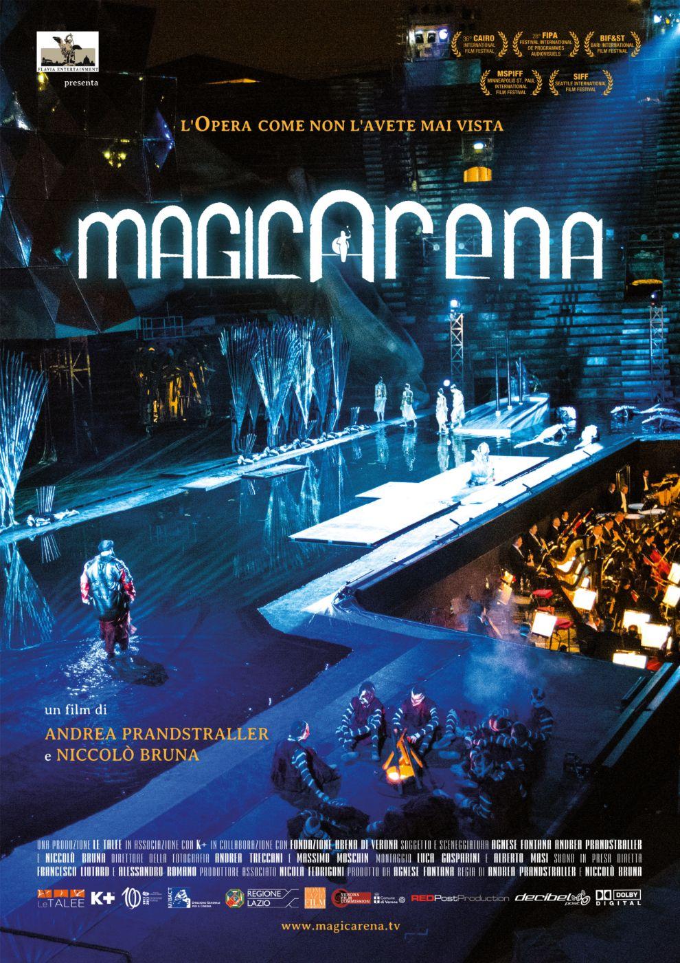 Locandina di MagicArena