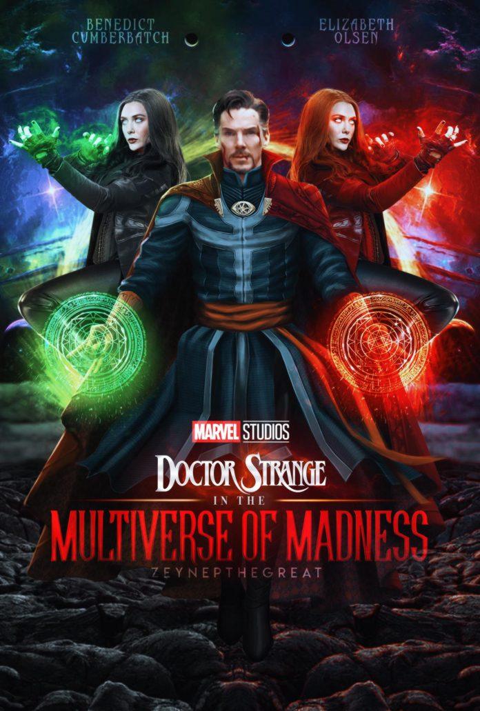 Locandina di Doctor Strange in the multiverse of madness