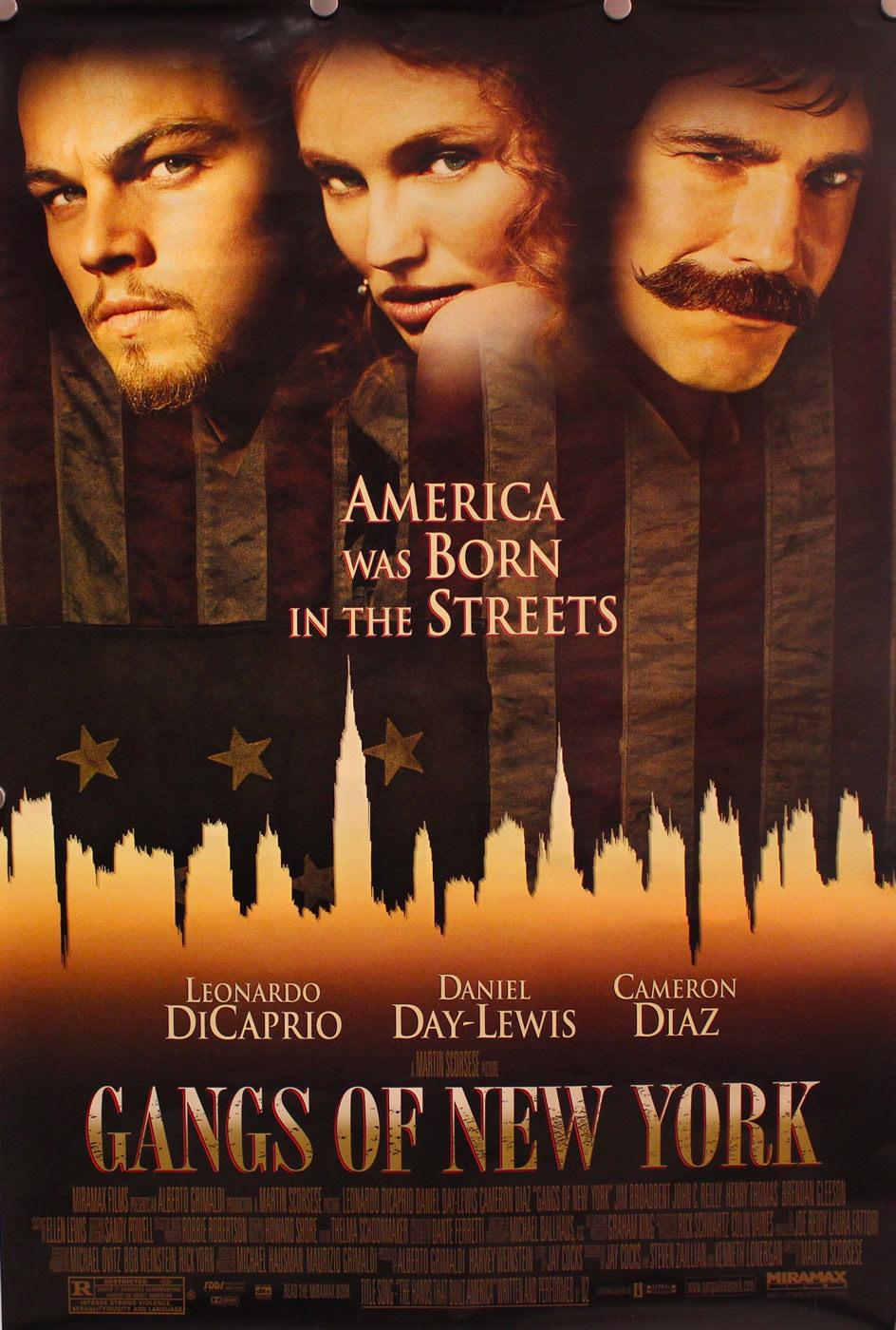 Locandina di Gangs of New York