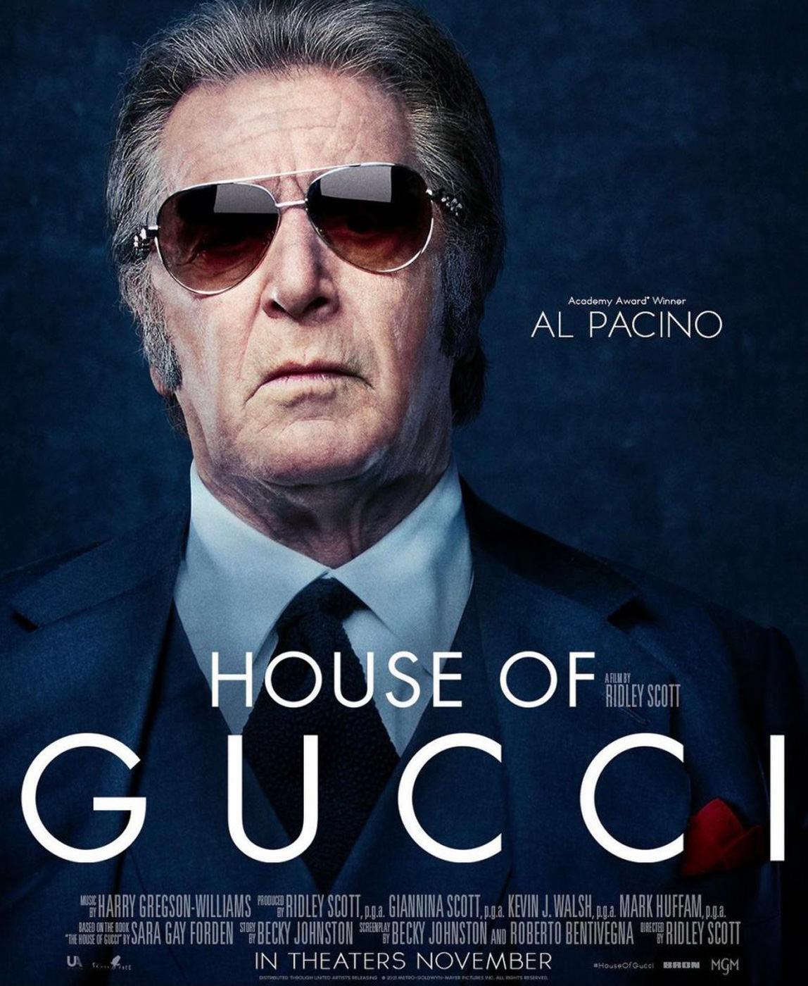 Locandina di House of Gucci
