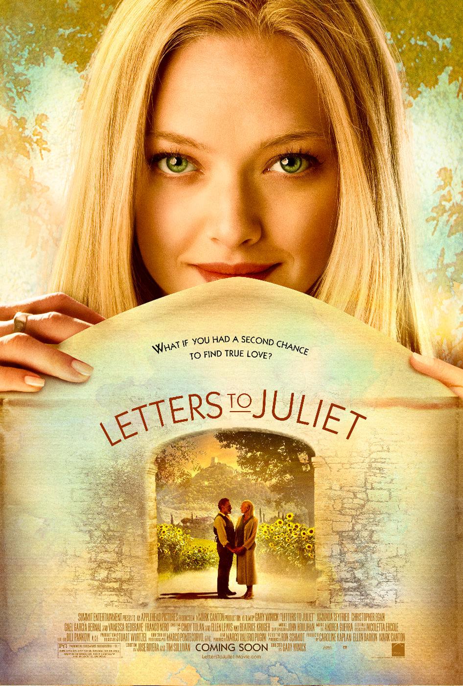 Locandina di Letters to Juliet