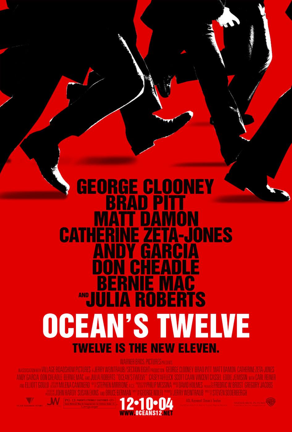 Locandina di Ocean's Twelve