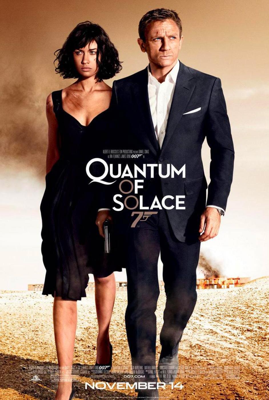 Locandina di Quantum of Solace