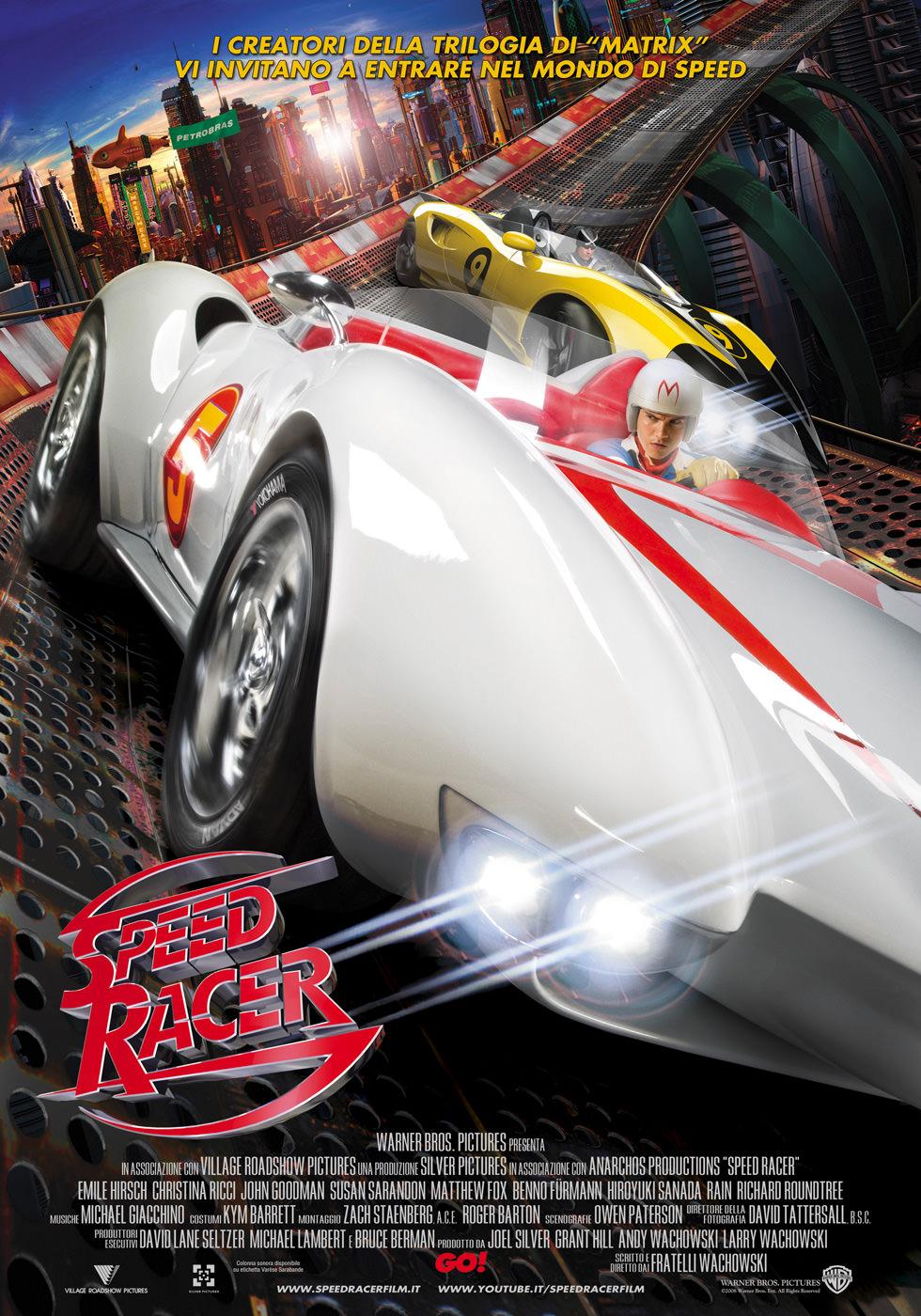 Locandina di Speed racer