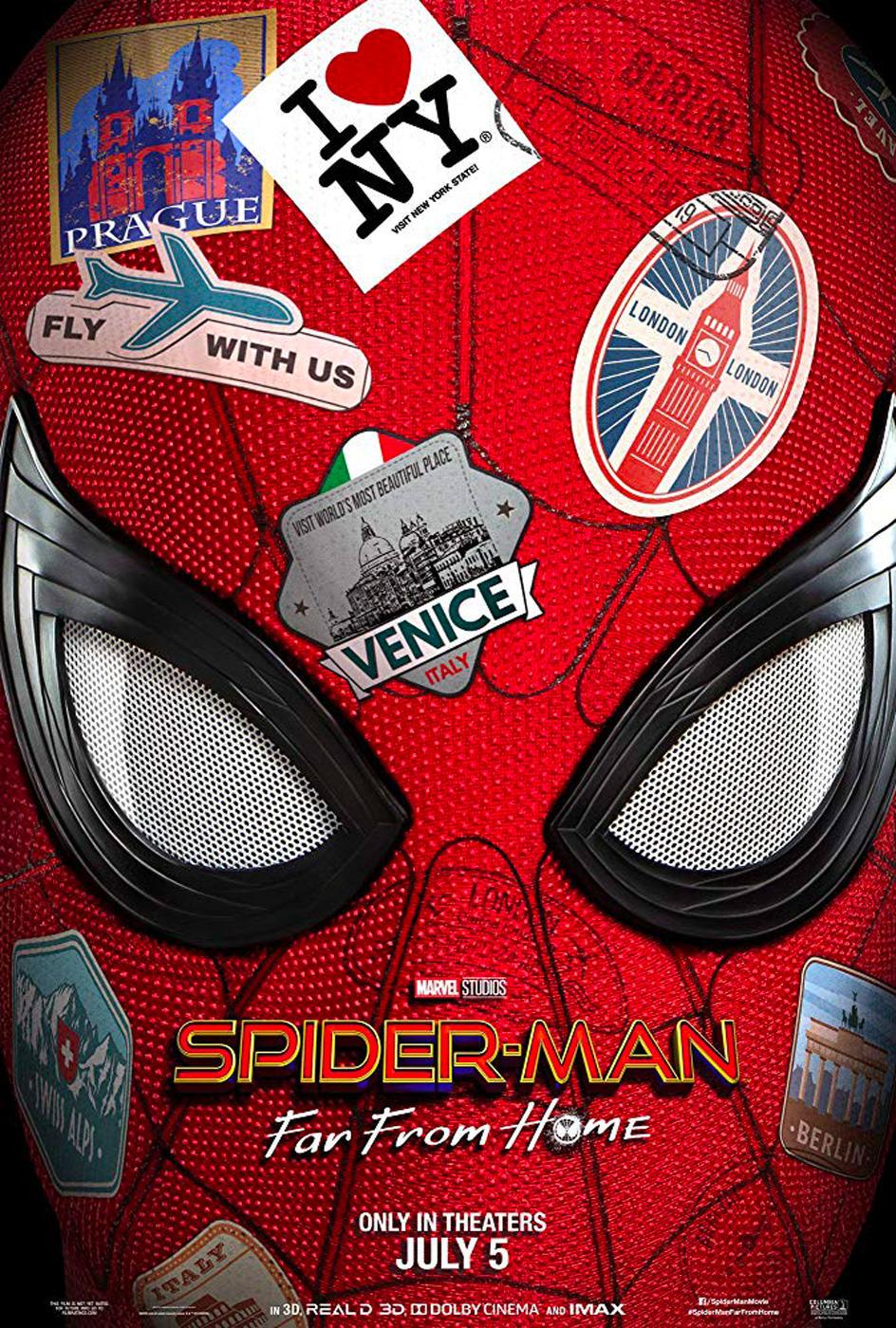 Locandina di Spiderman Far From Home