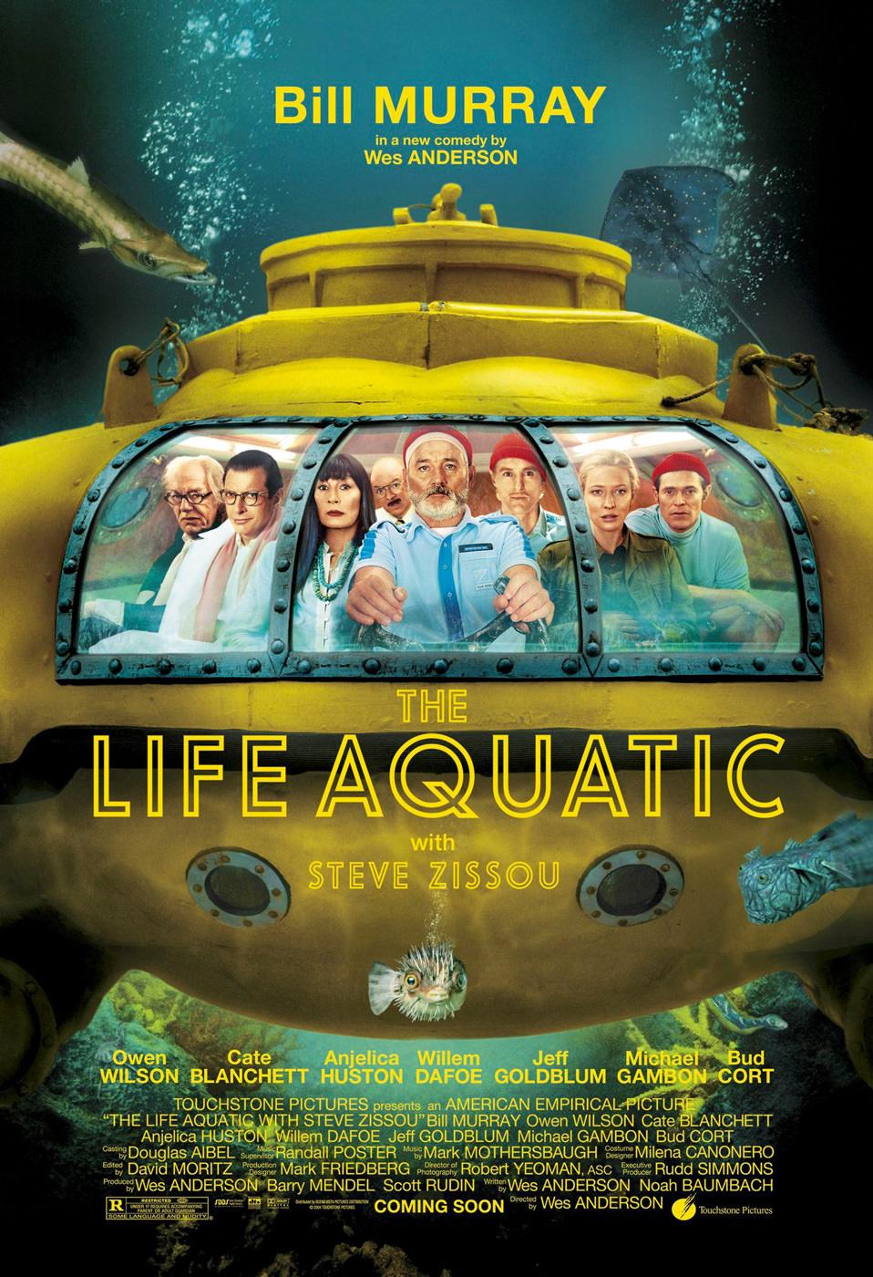 Locandina di The Life Aquatic with Steve Zissou